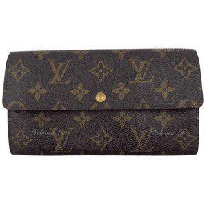 Authentic Louis Vuitton Monogram Long Wallet